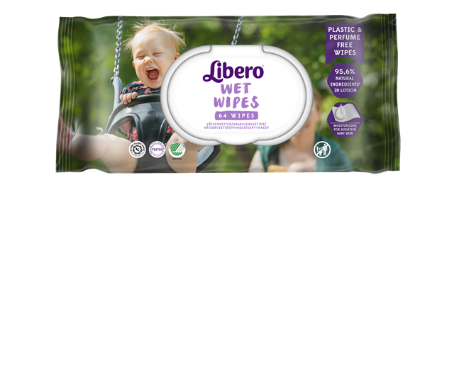 LIBERO PLAST FREE WET WIPES 64 st